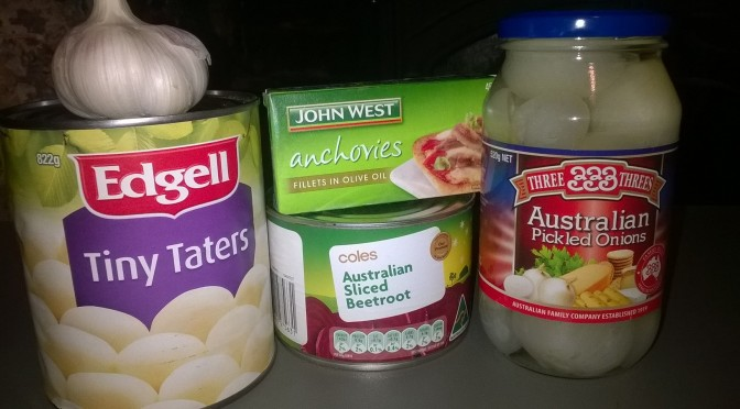 Anchovy Roast Veggies